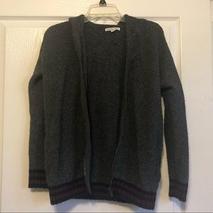 AEO Zip Up Cardigan Sweater